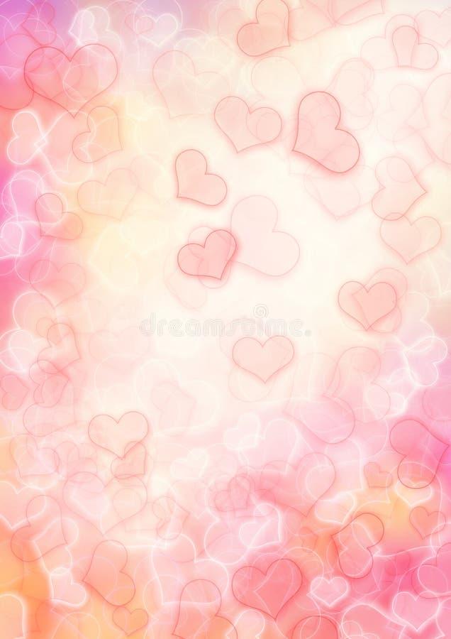 tła serce ilustracji