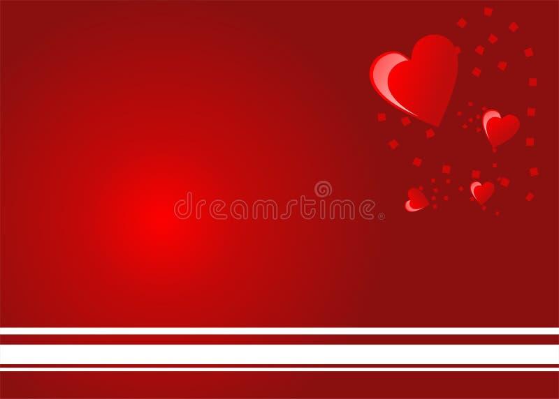 tła serce obrazy stock