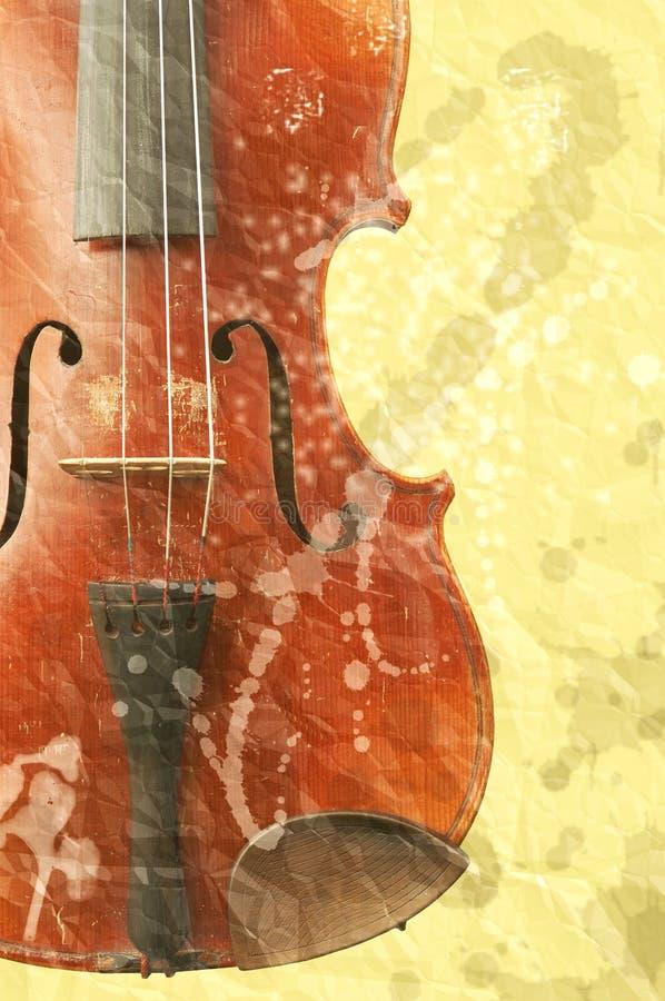 tła skrzypki muzyka stara ilustracji