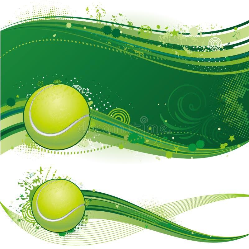 tła sporta tenis royalty ilustracja