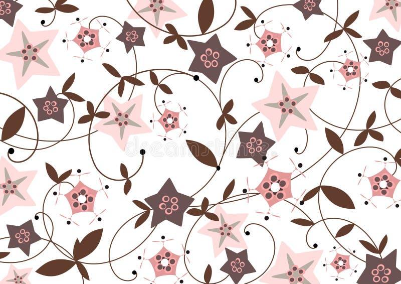 tła starflower ilustracja wektor
