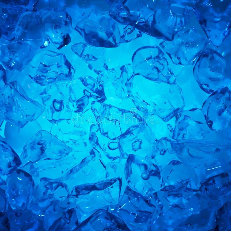tła sześcianów lód obrazy stock