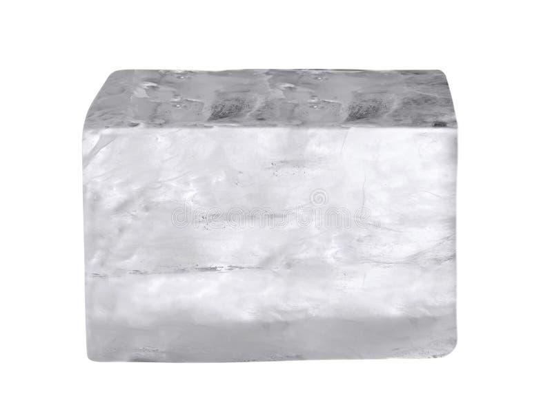 tła sześcianu lodu biel zdjęcie royalty free