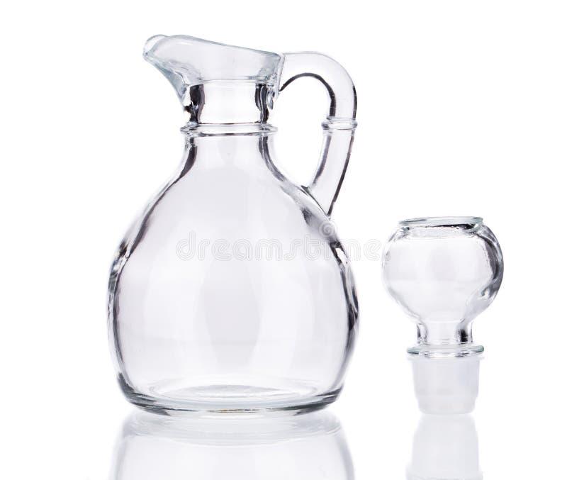 tła szkła odosobniony miotacza biel zdjęcie stock