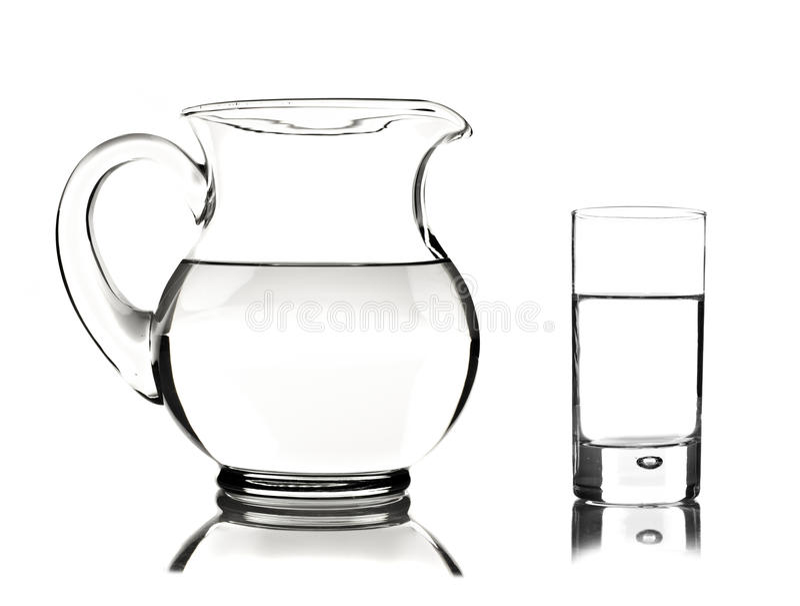 tła szklany miotacza biel obrazy royalty free