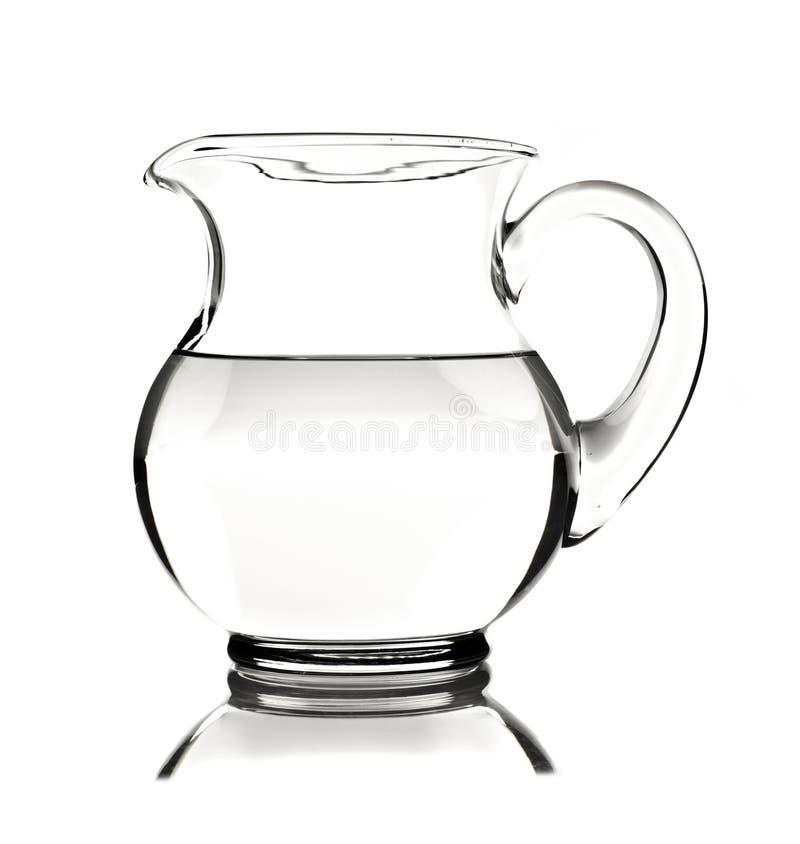 tła szklany miotacza wody biel obrazy royalty free