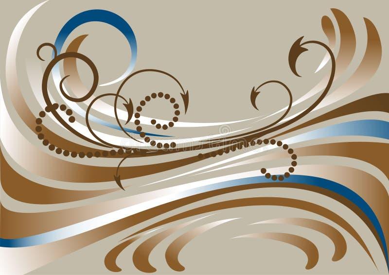 tła sztandaru brudno- lampasy ilustracja wektor