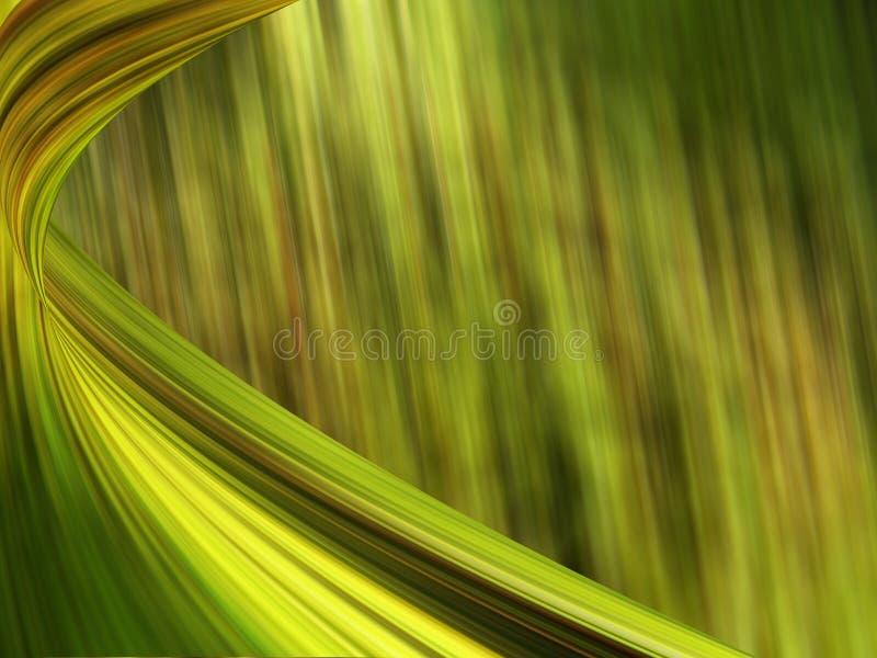 tła sztandaru zieleń obraz royalty free