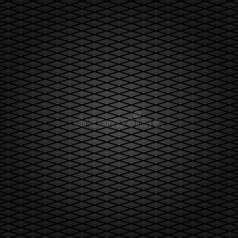 tła sztruksowej ciemnej tkaniny szara siatki tekstura royalty ilustracja