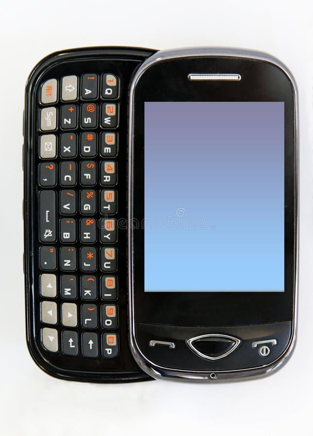 tła telefonu biel obraz stock