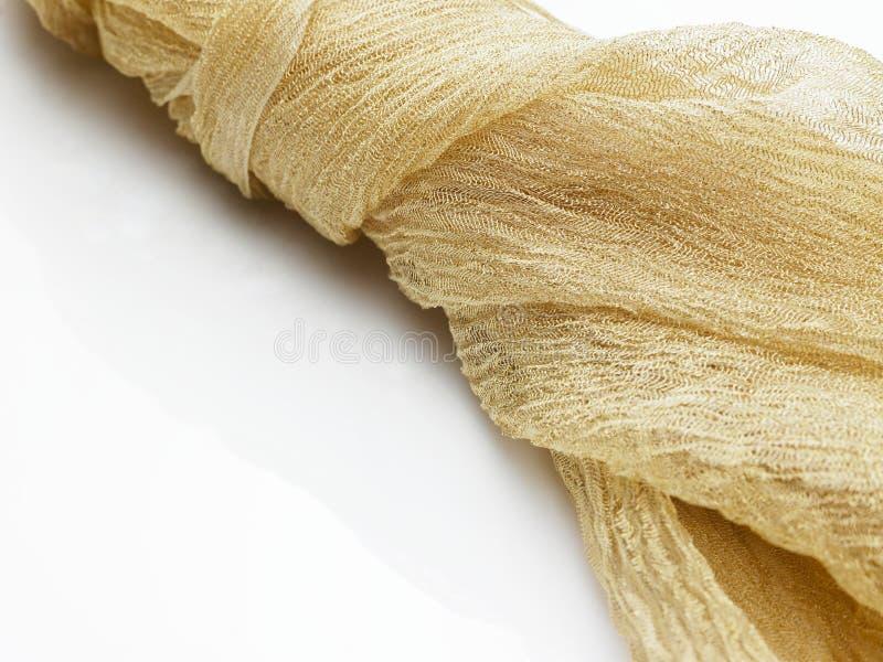 tła tkaniny złoto zdjęcia stock