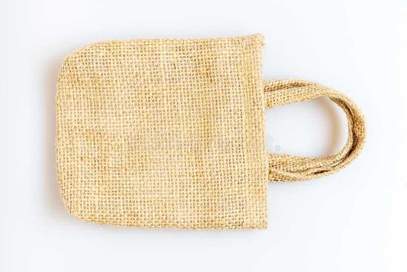 tła torby tkaniny odosobniony biel obraz royalty free