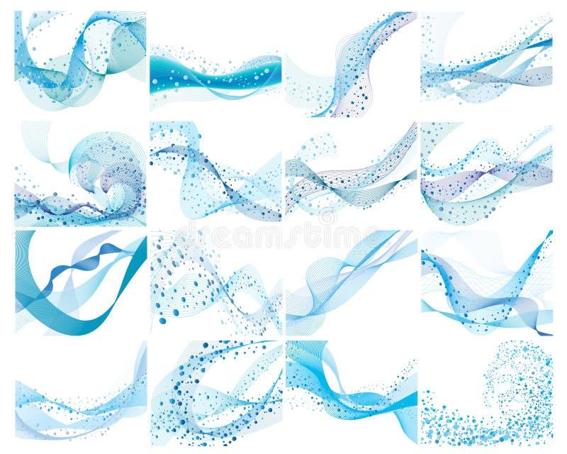tła ustawiająca woda royalty ilustracja