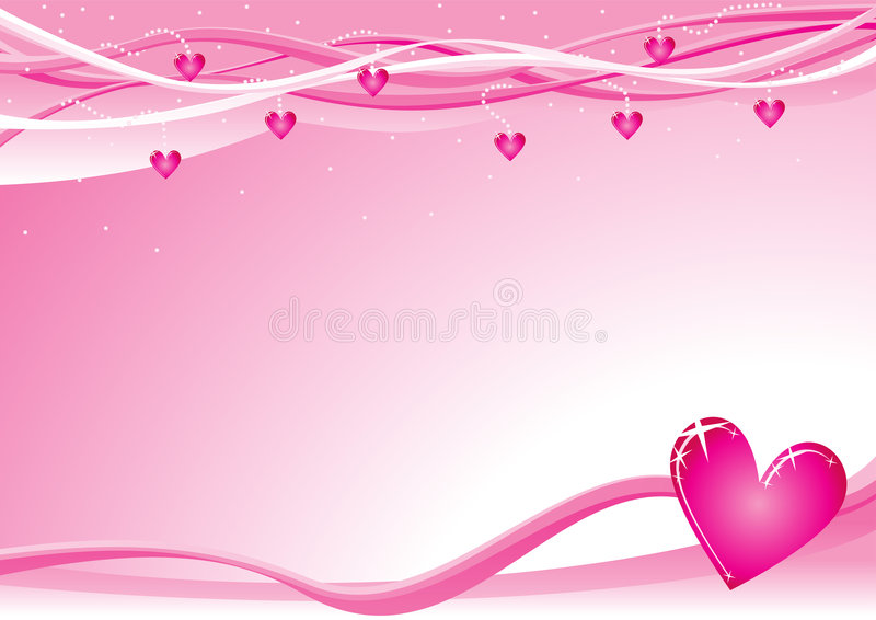 tła valentine royalty ilustracja