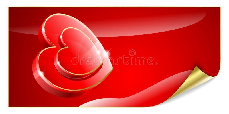 tła valentine s royalty ilustracja