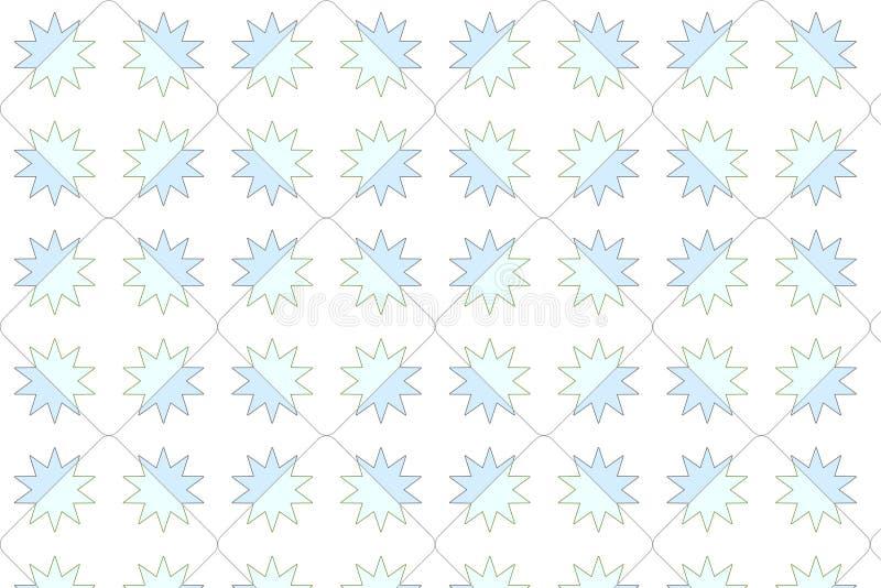 tła wzoru gwiazda ilustracji