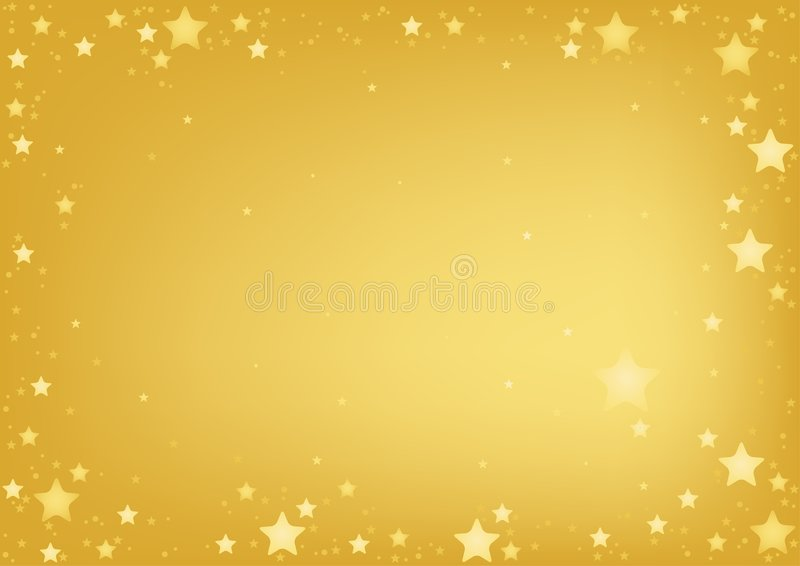 tła złota gwiazdy royalty ilustracja