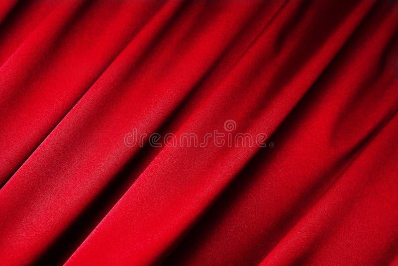 tła zasłony czerwień fotografia stock