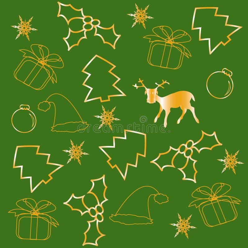 tła zieleni wzór ilustracji