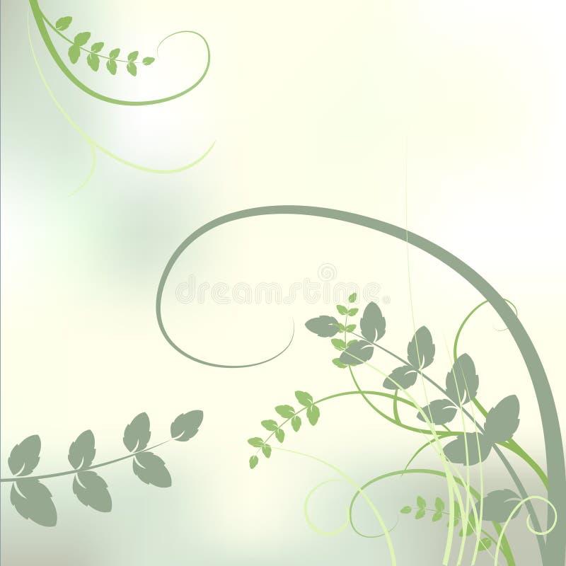 tło łąka kwiecista ogrodowa ilustracja wektor