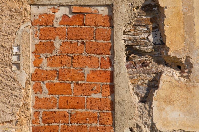 Tło Ściana fotografia stock