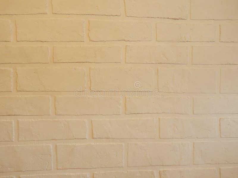 Tło ściana ten biały ceglany tynk obrazy stock