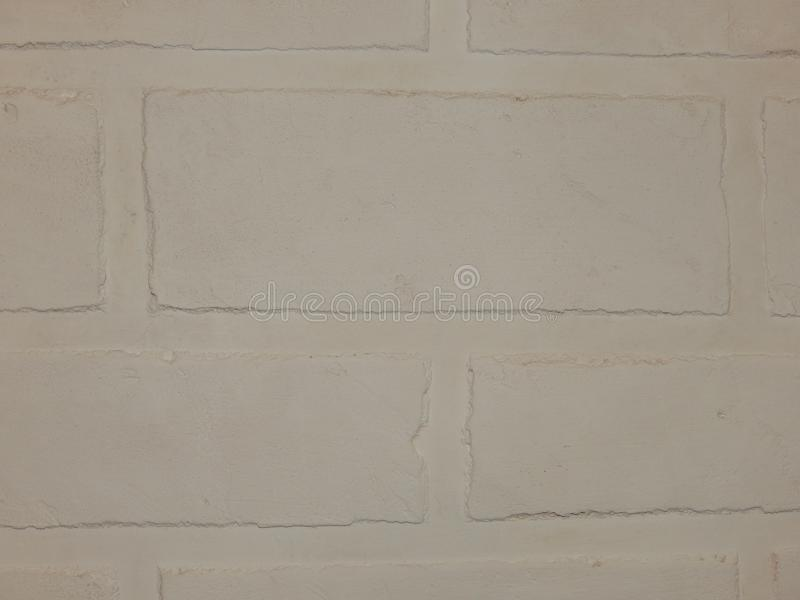 Tło ściana ten biały ceglany tynk fotografia royalty free