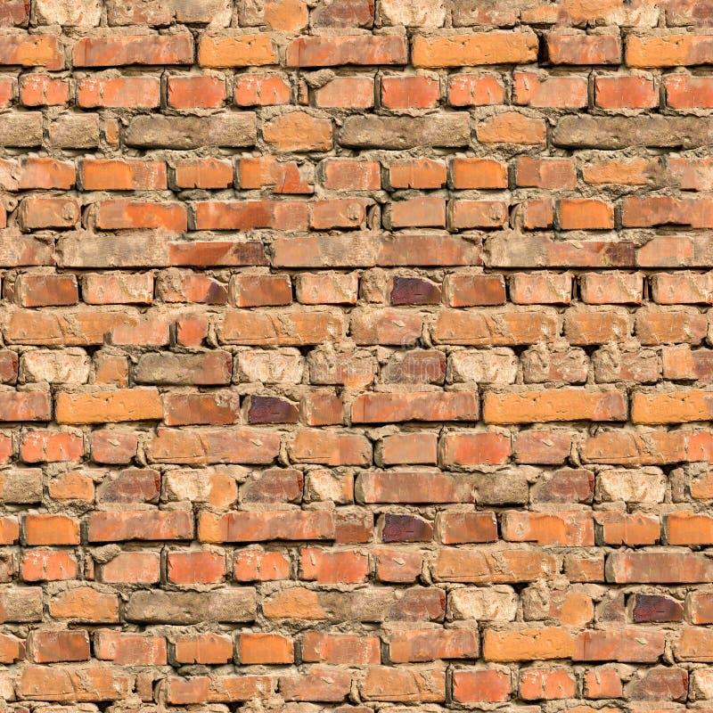 Tło ściana z cegieł tekstura. obraz royalty free