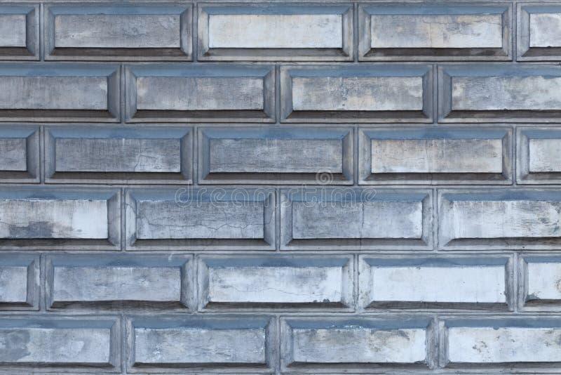 Tło ściany z cegły szarej zdjęcia royalty free