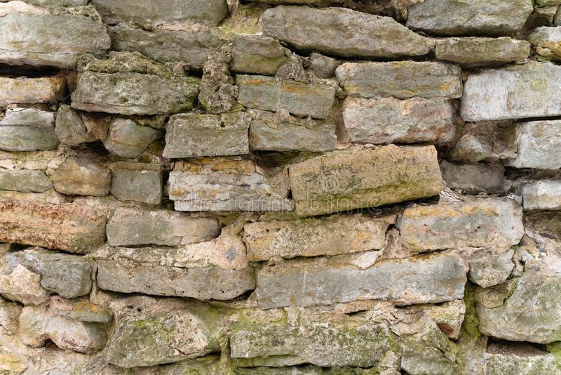 Tło ścienna tekstura kamieniarstwo architektura i budowa Projekt obrazy royalty free