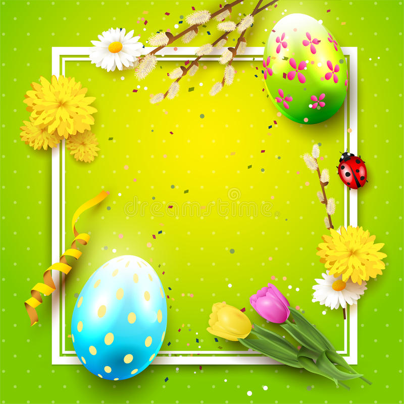 tło śliczny Easter