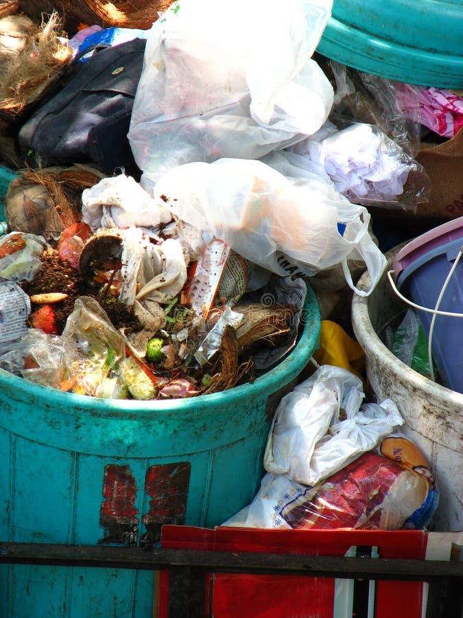 tło śmieci. obrazy stock