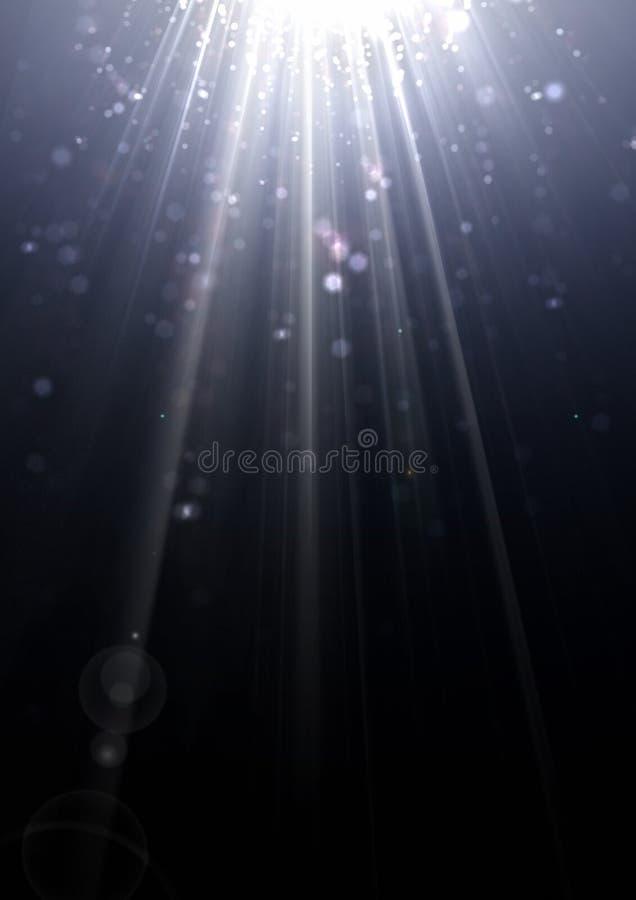 tło światła obraz stock