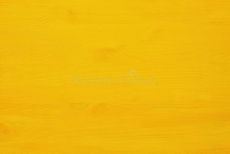 Tło żółta drewniana tekstura zdjęcie stock