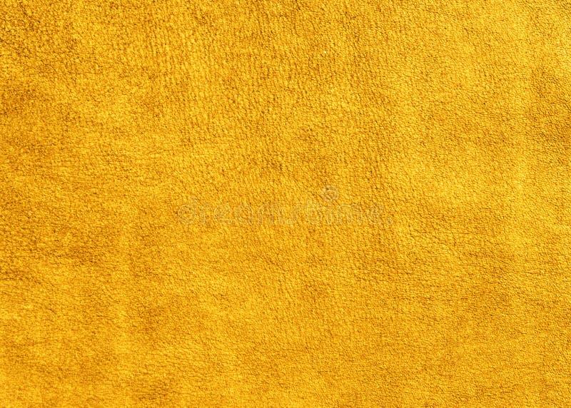Tło żółta zamszowy skóra obrazy royalty free