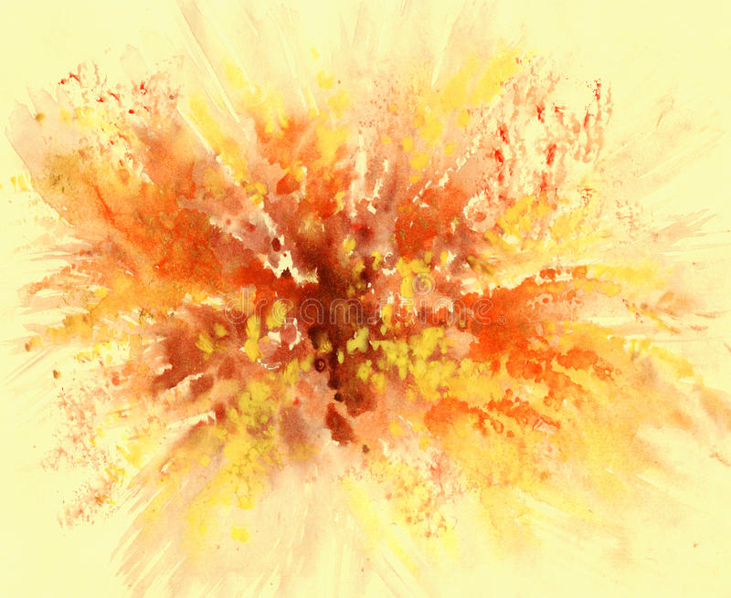 tło abstrakcjonistyczna akwarela ilustracja wektor