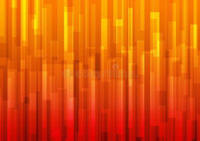 tło abstrakcjonistyczna pomarańcze royalty ilustracja