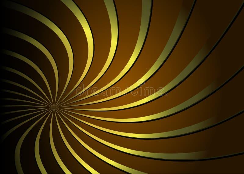 tło abstrakcjonistyczna spirala ilustracja wektor