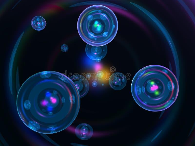 tło abstrakcjonistyczna technologia ilustracja wektor