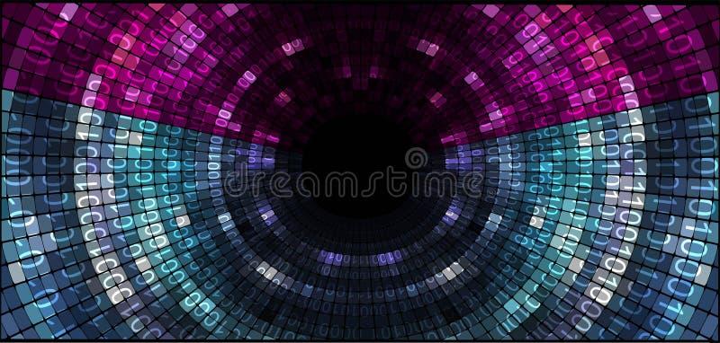 tło abstrakcjonistyczna technologia ilustracji
