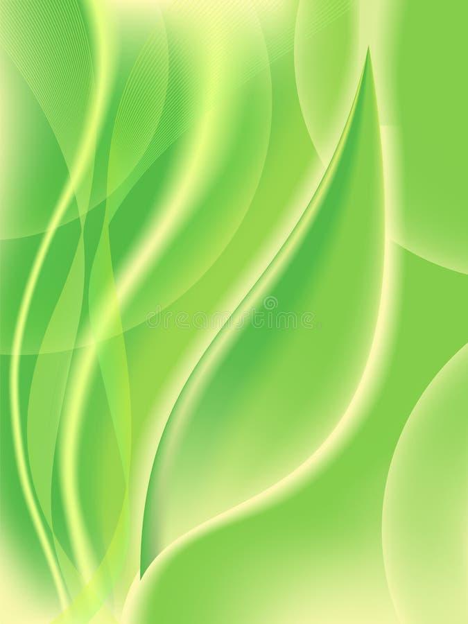tło abstrakcjonistyczna zieleń royalty ilustracja