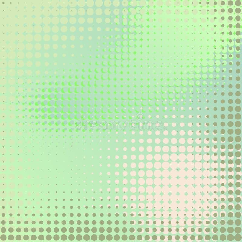 tło abstrakcjonistyczna zieleń ilustracja Komputer Wytwarzający Bitmap ilustracji