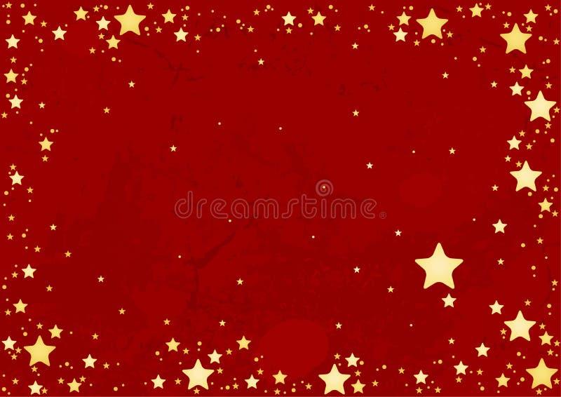 tło abstrakcjonistyczne gwiazdy royalty ilustracja