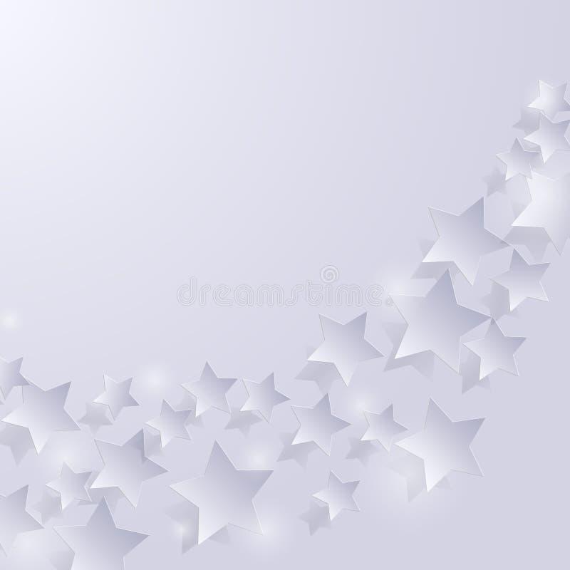 tło abstrakcjonistyczne gwiazdy Wektorowa ilustracja EPS10 royalty ilustracja