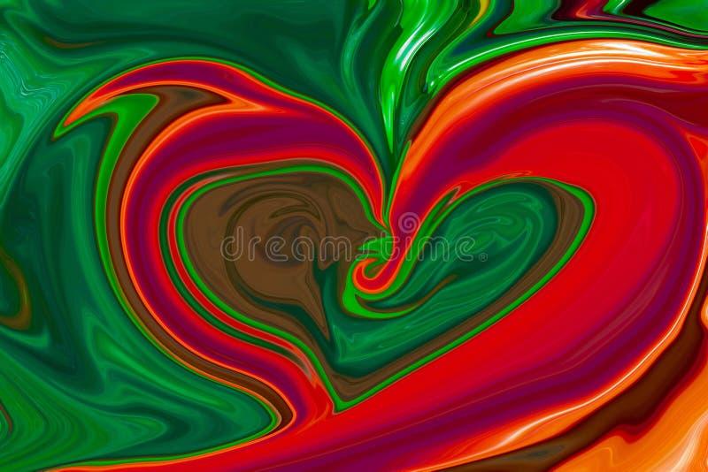 tło abstrakcjonistyczni kolory zdjęcia stock