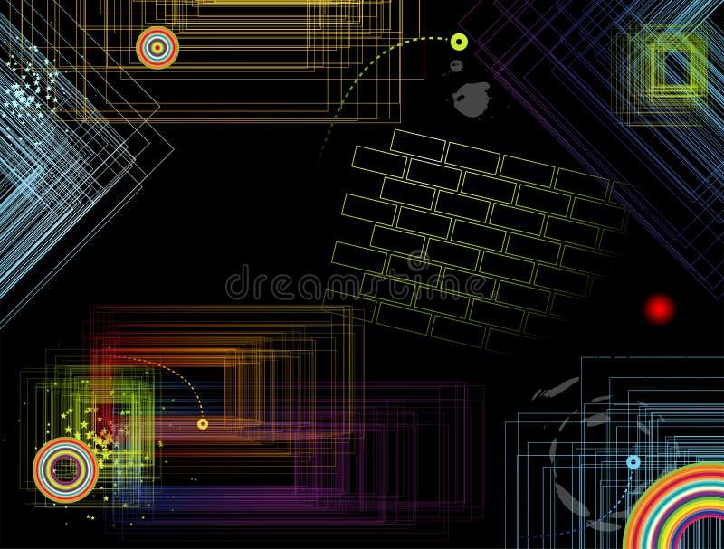 tło abstrakcjonistyczny biznes ilustracji