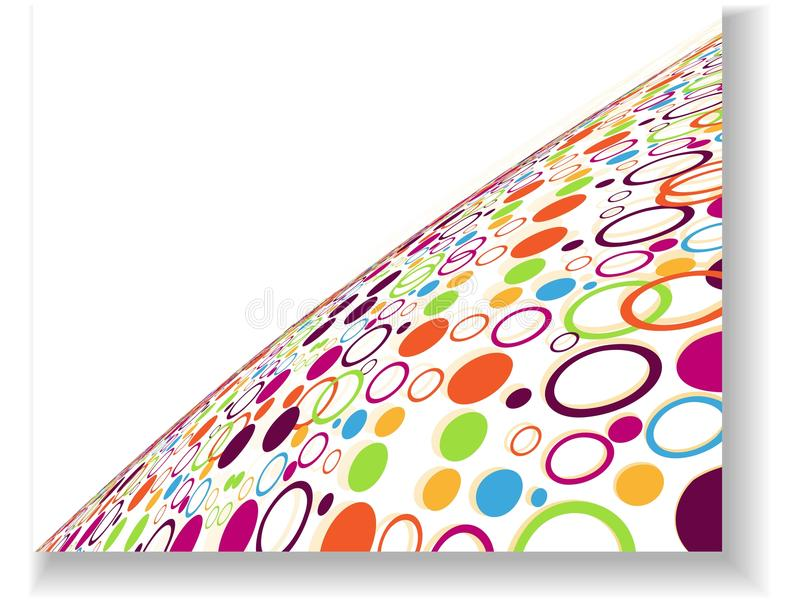 tło abstrakcjonistyczny kolor dotes ilustracji