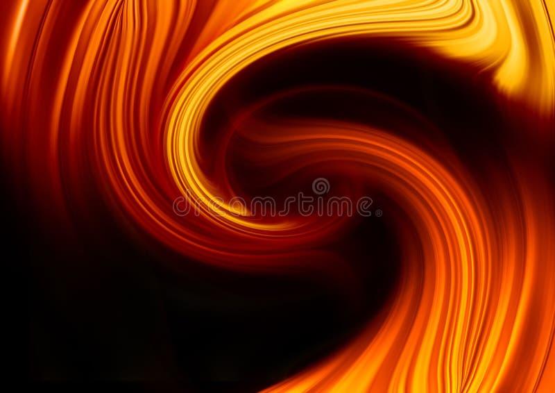 tło abstrakcjonistyczny ogień royalty ilustracja