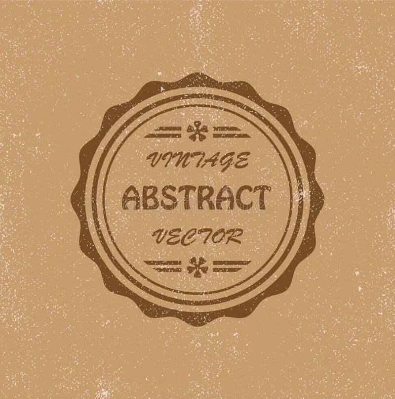 tło abstrakcjonistyczny rocznik zdjęcie royalty free
