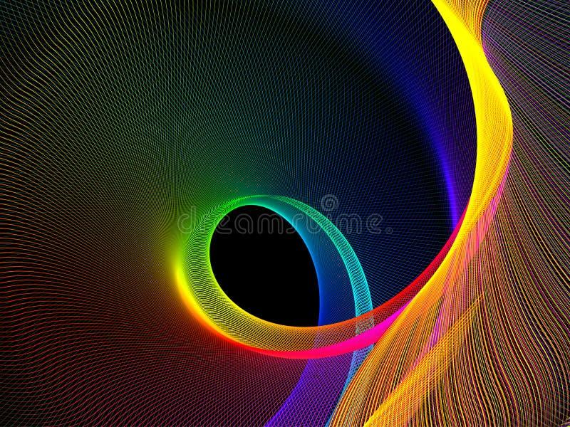 tło abstrakcjonistyczny wektor ilustracja wektor